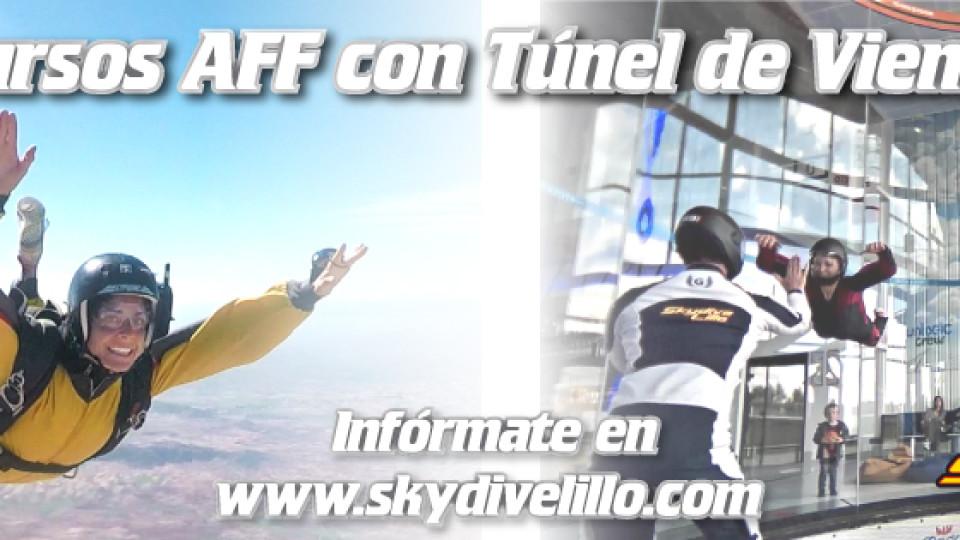 cursos AFF con tunel de viento en madrid