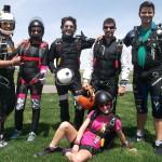 hacer paracaidismo en verano