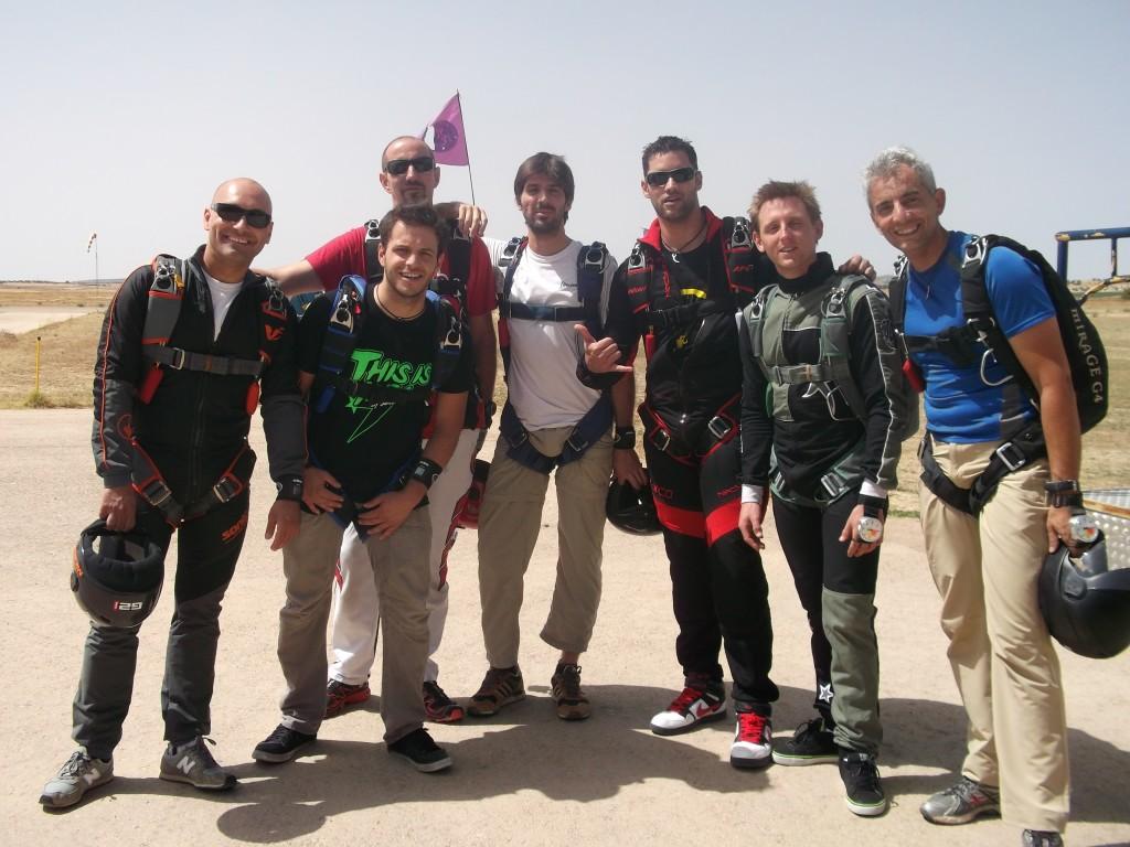 saltar con paracaidas