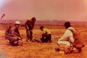 historia del paracaidismo español